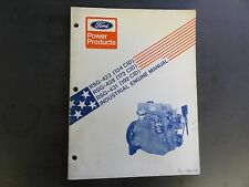 Ford Power Products  RSG-422,RSG-428,RSG-431 Industrial Engine Manual