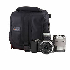 Waterproof Shoulder Camera Case Bag For Sony Alpha NEX-5R NEX-6