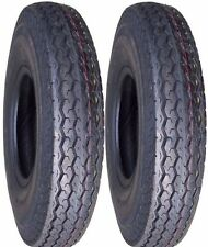 "2) 5.30-12 530-12 12"" Trailer Tire 6 ply LOAD C HIGH SPEED BOAT TRAILER"