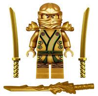 NEW LEGO NINJAGO GOLDEN NINJA MINIFIG 70503 minifigure figure gold lloyd zx