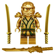 NEW LEGO NINJAGO GOLDEN NINJA MINIFIG 9450 minifigure figure gold lloyd zx toy