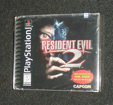 RESIDENT EVIL 2: Dual Shock, *New* Y-FOLD *Sealed* PS1 Classic see photos/read