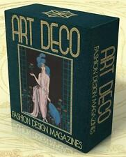 ART DECO Fashion Design Magazines 17 Rare Volumes on DVD Gazette du Bon Ton