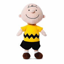 """Official Peanuts Snoopy Charlie Brown Super Soft Toy 10"""""""