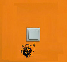 PEGATINA - STICKER - Llave de Luz - Light switch - VINILO - FUNNY - VINYL