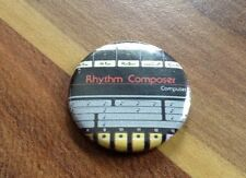 Roland TR 808 25mm Badge Pin Button  90S VINYL Akai Mpc Drum Machine 80s 909 Wax