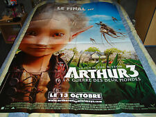 AFFICHE  ANIMATION / ARTHUR ET LES MINIMOYS 3, besson