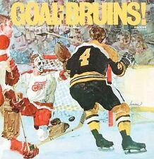 1969-70  Boston Bruins Goal Bruins CD NEW