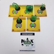 [Kev] Heroclix War of Light set lot of 5 Green Lantern Corps constructs!