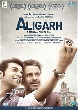 ALIGARH (2016) MANOJ BAJPAI, RAJKUMMAR RAO - BOLLYWOOD HINDI DVD