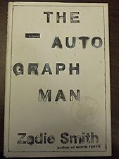 AUTOGRAPH MAN by Zadie Smith *SIGNED* HBDJ 2002 1ST/1ST Brand New