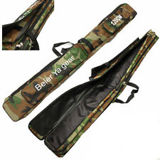 120cm Camouflage Carp Fishing Rod Tackle Bag Case Padded Holder Luggage Holdall