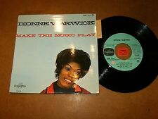 DIONNE WARWICK - MAKE THE MUSIC PLAY- EP FRENCH COLUMBIA / LISTEN - SOUL POPCORN