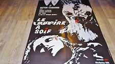 LE VAMPIRE A SOIF  ! peter cushing affiche cinema 1967