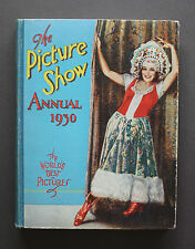 1930 PICTURE SHOW ANNUAL - Film Stars, Garbo, Swanson, Crawford, Bow & More!