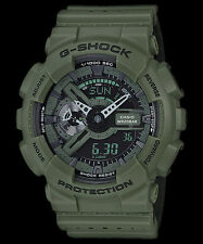 GA-110LP-3A Green Casio Mens Watches G-Shock 200M Analog Digital X-Large Resin