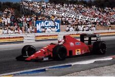 9x6 Photograph Nigel Mansell , Scuderia-Ferrari 640  French GP Paul Ricard 1989