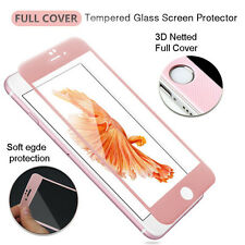 For iPhone 6S Plus Full 3D Curved Tempered Glass Screen Protector Film Cover