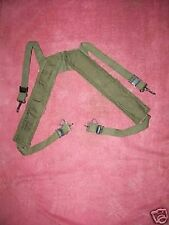 EARLY VIETNAM ERA M-1956 ADJ. OD CANVAS FIELD PACK  SUSPENDERS  63 MINT