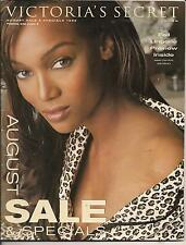 TYRA BANKS CAT VICTORIA'S SECRET 1999 AUGUST SALE SPECIAL