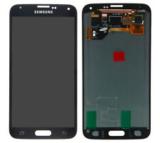 100% Original Samsung Galaxy S5 Black i9600 G600F Digitiser Screen, LCD Assembly