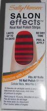 Sally Hansen Salon Effects Real Nail Polish Strips 540 Stripe Tease peel & apply