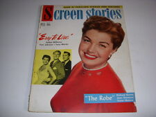 VINTAGE SCREEN STORIES MAGAZINE, OCTOBER, 1953, ESTHER WILLIAMS, ROMAN HOLIDAY!