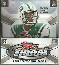 2013 Topps Finest Football Factory Sealed Hobby Box - 2 Autographs Per Box