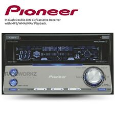 PIONEER FH-P5000MP CD Cassette Double DIN Car Player Headunit Stereo Receiver