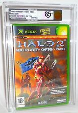 Halo 2 Multiplayer Map Pack Microsoft X-Box Classic nuevo sealed vga85+ oro