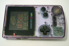 +++ NINTENDO GAMEBOY COLOR SYSTEM Atomic Purple CGB-001 TESTED  WORKS!