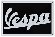 Reproduction Vespa Motor Cycle Scooter Sign