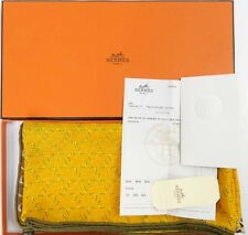 NWT AUTH HERMES A CHEVAL SUR MON CARRE CASHMERE SILK in box SILK SHAWL GM 54""