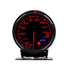Car 60mm LED 7-Color Oil Temp Temperature Gauge Meter 4- 6- 8- Cylinder Engines