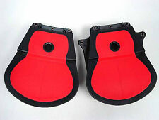 Black Shooting Military Pistol Holster Belts & Mag Pouch Set For Glock 17 New
