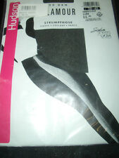 Hudson GLAMOUR Glanz Strumpfhose Gr. 38-40 graphit 20 den Tights Collant OVP