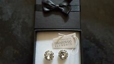 Genuine Swarovski Elements 13mm Clear Crystal Gift Boxed Stud Earrings