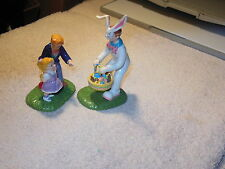 """Dept 56   Snow Village's      Easter Series """" It's The Easter Bunny"""""""