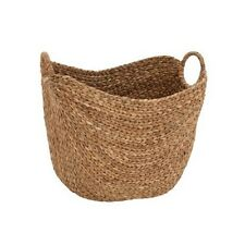 Deco 79 48970 Large Seagrass Basket NEW