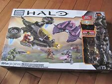 MEGA BLOKS HALO #97123 UNSC Hornet Versus Covenant Vampire 684 pcs NEW Sealed