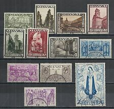 Belgium stamps 1933 YV 363-374  CANC  VF