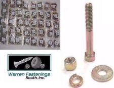 GRADE 8 COARSE HEX HEAD CAP SCREW / BOLT NUT & WASHER ASSORTMENT KIT 1775 Pieces