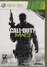 Call of Duty Modern Warfare 3 Microsoft Xbox 360 Brand New Sealed COD