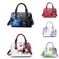 Printing Ladies Fashion Bag Tote Designer Leather Shell Style Shoulder Handbags