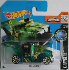 Hot Wheels - Rig Storm Race Truck grün transparent Treasure Hunt Neu/OVP