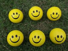 Moody Happy Smiley Face Work Stress Relief Squeeze Rubber Balls Venting Toy SK