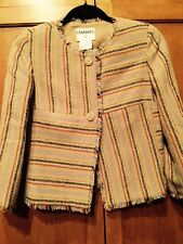 2000 Cruise Season Stunning SZ FR 38/US 4/6 CHANEL Multi Color Jacket Blazer