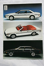 altes original Prospekt BMW Bitter SC Cabriolet Coupe Sedan 1985 TOP Zustand!!