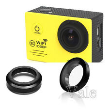 For SJ7000 Wifi Action Sports Camera UV Filter Cover Glass Cap Lens Protector
