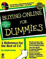 Buying Online for Dummies by Joseph Lowery * Includes Approved Shopping Sites*